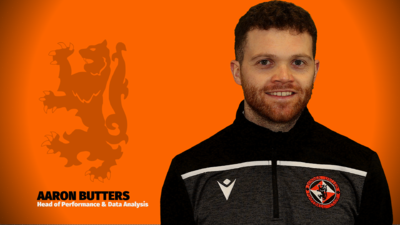 AARON BUTTERS - HEAD OF PERFORMANCE AND DATA ANALYSIS