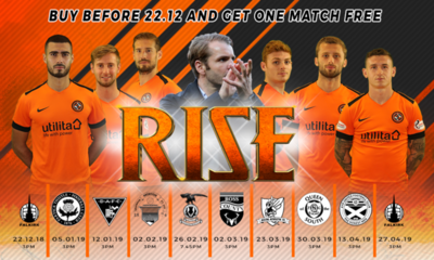 HALF SEASON RISE IMAGE FEATURING ROBBIE NEILSON AND SIX PLAYERS