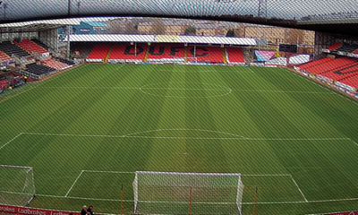 PHOTO OF TANNADICE TAKEN FROM THE ET UPPER