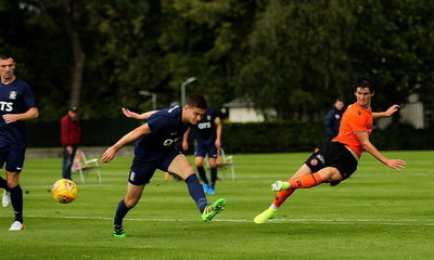 Ian Harkes in his second goal for the Reserves