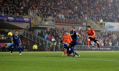 IAN HARKES SCORES IN THE LAST DERBY MATCH