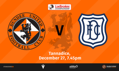 Dundee make the short trip down Tannadice Street on Friday for another sold out derby