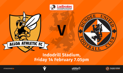 This Friday we make the trip down to Alloa
