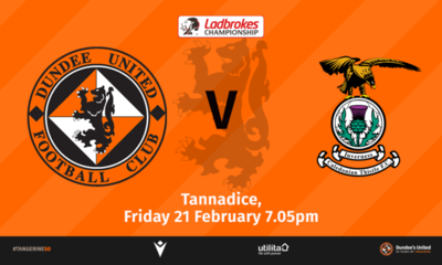 We welcome John Robertson's side to Tannadice on Friday night.