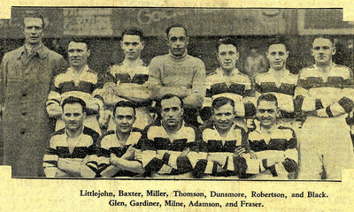 1940 United Cup Finalists Team Picture