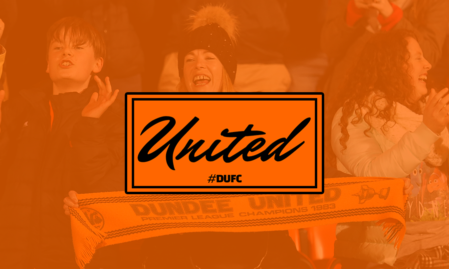 PICTURE OF FANS WITH TANGERINE OVERLAY AND SMALL SEASON TICKET LOGO