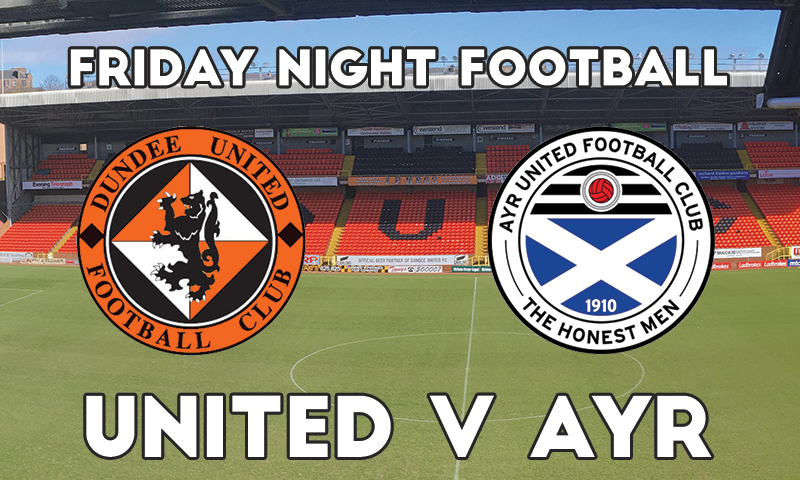 GRAPHIC SHOWING TANNADICE WITH UNITED AND AYR CRESTS OVERLAYED