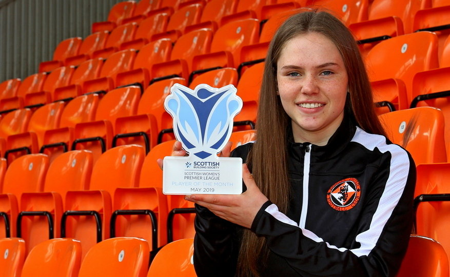 NEVE WINS MONTHLY AWARD   Dundee United Football Club