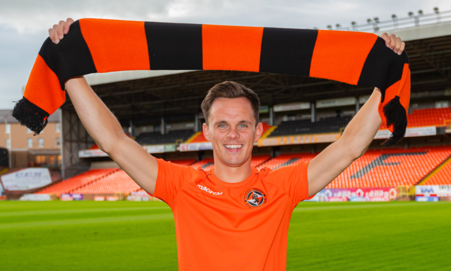 LAWRENCE SHANKLAND WITH SCARF