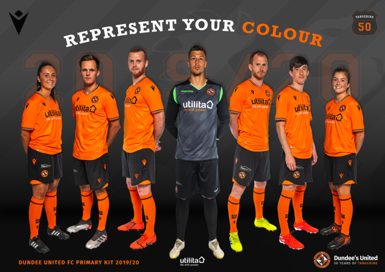 IMAGE SHOWING PLAYERS WITH THE NEW KIT ON