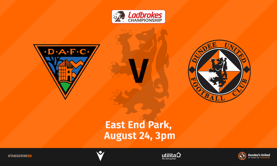 FOLLOW THE FIRST TEAM TO FIFE THIS SATURDAY   Dundee United