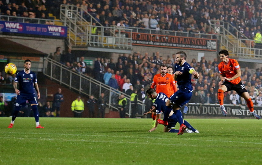 Ian Harkes makes it 5 - 0 v Dundee in August