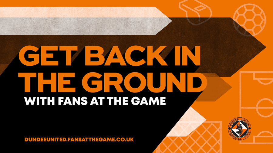 Get back in the ground with fans at the game