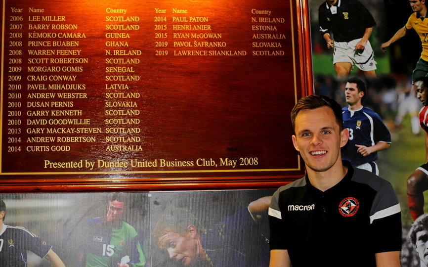 SHANKLAND IN FRONT OF INTERNATIONAL BOARD