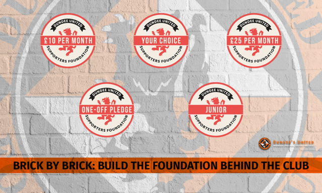 DUNDEE UNITED SUPPORTERS' FOUNDATION GRAPHIC