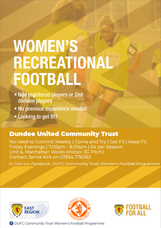 Women's Recreational Football