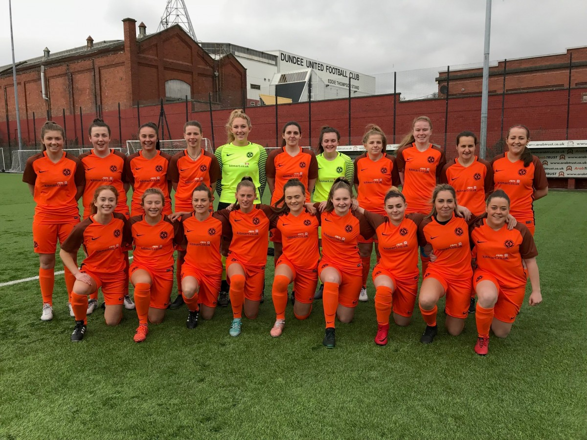 Dundee United women team